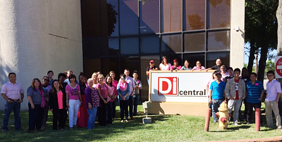 DiCentral Breast Cancer Awareness