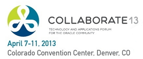 DiCentral presenting at Oracle COLLABORATE 15