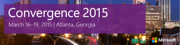 DiCentral Microsoft Convergence 2015