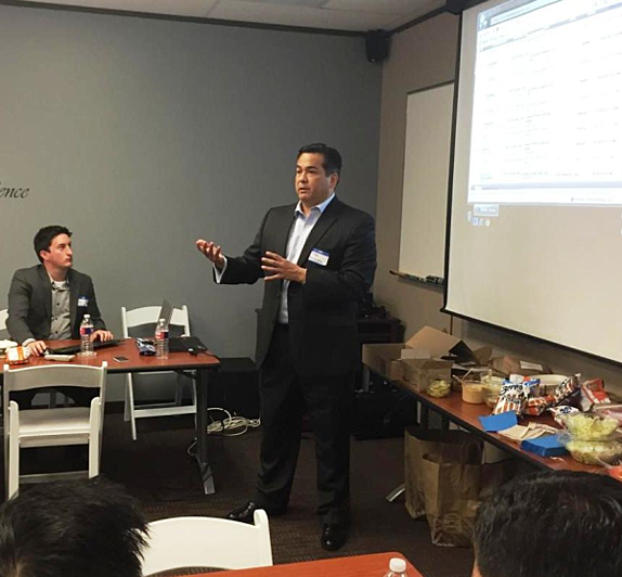 DiCentral presents at Houston Oracle Users Group meeting