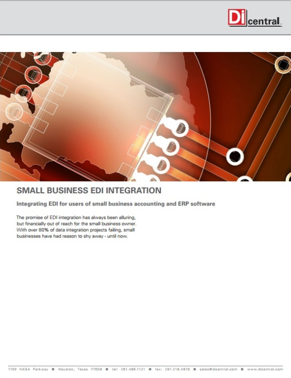EDI Integration: It's not just for Fortune 500 Companies