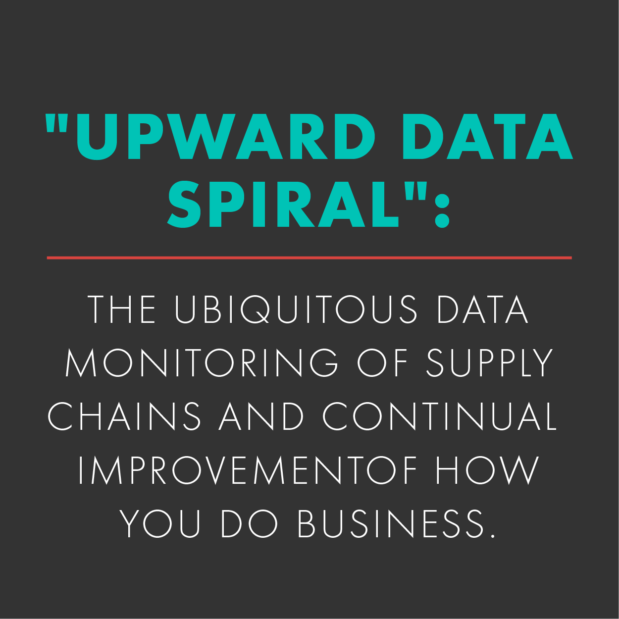 DiCentral Future of B2bi and Enterprise Resource Planning, Upward Data spiral