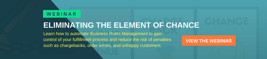Webinar - Eliminating the Element of Chance with Business Rules Management