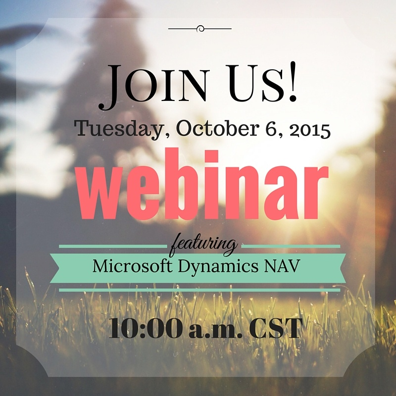 Upcoming Webinar: EDI Integration with Microsoft Dynamics NAV
