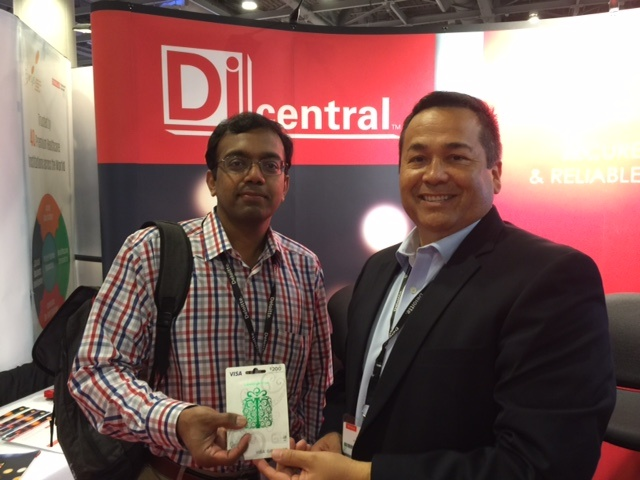 Congrats to the DiCentral prize giveaway winner at Oracle OpenWorld 2015!